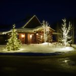 Commercial Holiday Lights Business Steamboat Colorado